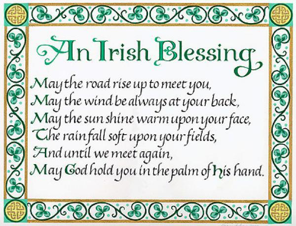 special Irish Blessing