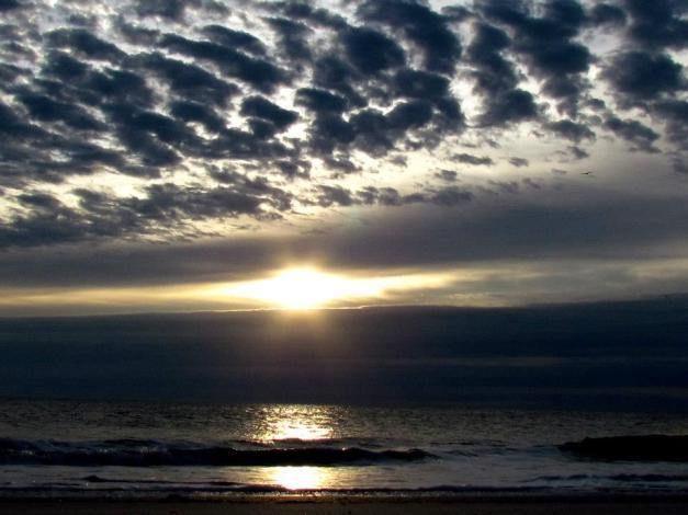 Lisa's sky and water