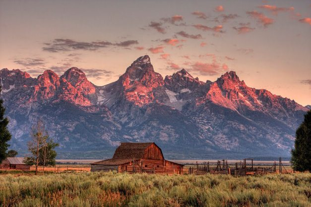 Grand Teton Nat Pk Mormon Row WY